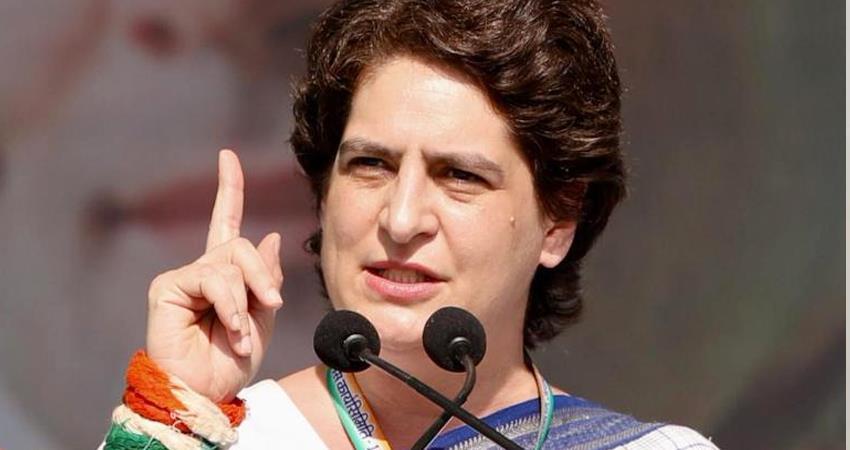 प्रियंका ने उप्र सरकार से कहा : गेहूं की अधिकतम खरीद सुनिश्चित की जाए