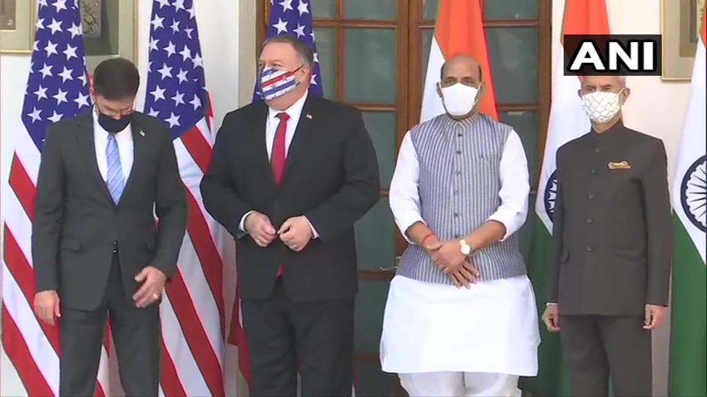 भारत और अमेरिका के बीच दिल्ली में तीसरी 'टू प्लस टू' वार्ता