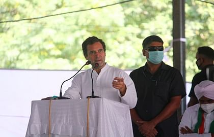 कृषि कानूनों को सीधे-सीधे रद्द करे सरकार: राहुल