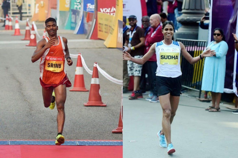 श्रीनू बुगाथा और सुधा सिंह ने जीता नयी दिल्ली मैराथन