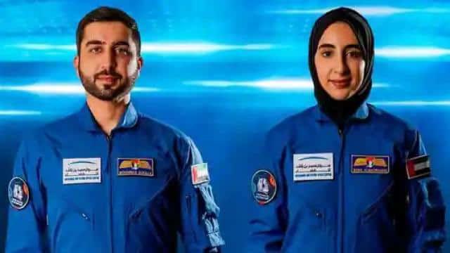 संयुक्त अरब अमीरात ने दो अंतरिक्ष यात्रियों के नाम की घोषणा की