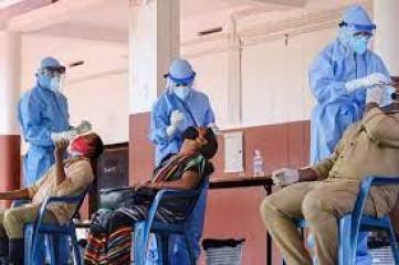 केरल में कोविड-19 के रिकार्ड 42,464 नए मामले