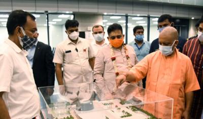 मुख्यमंत्री का निर्देश, जेवर हवाईअड्डे के डिजाइन में दिखाई दे भारतीय विरासत की झलक