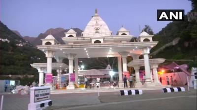 माता वैष्णो देवी मंदिर  नवरात्रि को देखते हुए इस बार सजावट के साथ कोरोना महामारी को लेकर भी खास तैयारियां