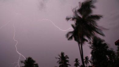 महाराष्ट्र के तट पर पहुंचा भीषण चक्रवाती तूफान निसर्ग अब पड़ने लगा है कमजोर