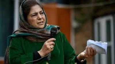 केंद्र कश्मीरी नेताओं का दमन कर रहा : महबूबा ने पीडीपी नेता पारा की हिरासत पर कहा