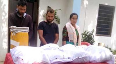 मणिपुर में दो करोड़ रुपये मूल्य की ब्राउन शुगर जब्त, तीन लोग गिरफ्तार