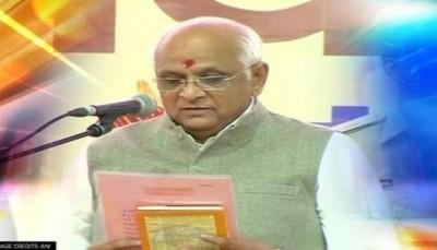 गुजरात : भूपेंद्र पटेल सरकार के नये मंत्री आज लेंगे शपथ