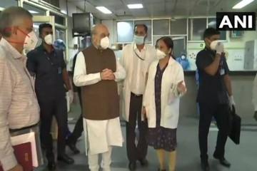 शाह दो अस्पतालों का दौरा कर गणतंत्र दिवस पर हुई हिंसा में घायल पुलिसकर्मियों का हालचाल जानेंगे