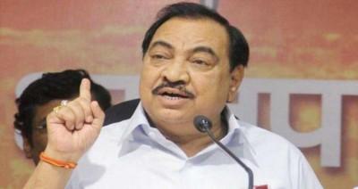भाजपा नेता एकनाथ खडसे राकांपा में होंगे शामिल : महाराष्ट्र मंत्री