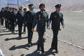 भारत, चीन के सैन्य कमांडरों के बीच वार्ता शनिवार को