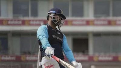 इंग्लैंड दौरा: भारतीय टीम ने मुख्य पिच पर अभ्यास किया, पंत ने भी नेट पर की बल्लेबाजी