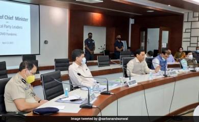 असम के मुख्यमंत्री ने कोविड-19 की स्थिति की समीक्षा की