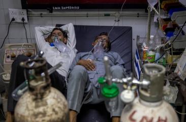 आंध्र प्रदेश के अस्पताल में ऑक्सीजन आपूर्ति में तकनीकी बाधा के कारण कोविड-19 के दो मरीजों की मौत