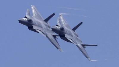 चीन ने ताकत दिखाने के लिए ताइवान की ओर 19 लड़ाकू विमान भेजे