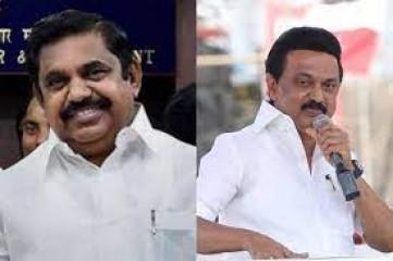 तमिलनाडु के मुख्यमंत्री पलानीस्वामी ने द्रमुक प्रमुख स्टालिन को दी शुभकामनाएं