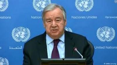 अफगानिस्तान में शांति व समृद्धि के लिए उसके सहयोगी अपनी भूमिका निभाएं : संयुक्त राष्ट्र प्रमुख