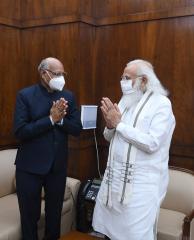 झारखंड के राज्यपाल रमेश बैस ने प्रधानमंत्री नरेंद्र मोदी से मुलाकात की: प्रधानमंत्री कार्यालय