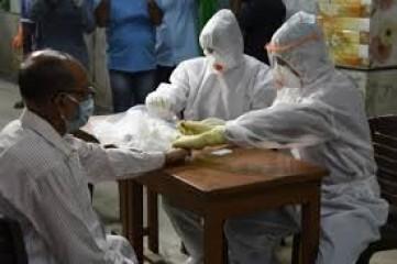तेलंगाना में कोविड-19 के 6,876 नए मामले, 59 लोगों की मौत