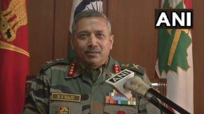 पाकिस्तान के टनल और ड्रोन से हथियार और ड्रग भेजना एक चुनौती : जनरल, GOC, चिनार कॉर्प्स