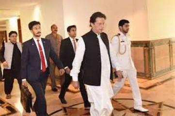 पाकिस्तान के प्रधानमंत्री इमरान खान ने आईएसआई मुख्यालय का दौरा किया