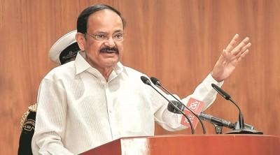 नायडू ने भारतीय भाषाओं की रक्षा में नवोन्मेषी, सहयोगपूर्ण प्रयासों का किया आह्वान