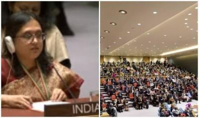 महिलाओं के खिलाफ अपराधों में लिप्त आतंकवादी संगठनों पर प्रतिबंध लगाए सुरक्षा परिषद: भारत