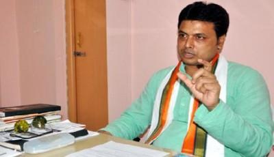 त्रिपुरा के मुख्यमंत्री ने मीडिया को लेकर अपनी टिप्पणियों का किया बचाव