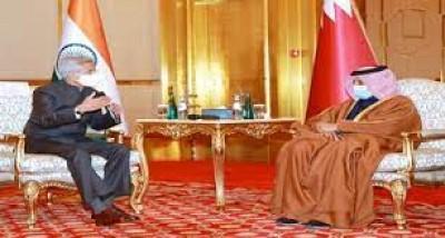 विदेश मंत्री जयशंकर ने कतर के उप प्रधानमंत्री से की बातचीत