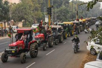 किसानों की ट्रैक्टर परेडः पलवल में करीब दो हजार किसानों के खिलाफ मामला दर्ज