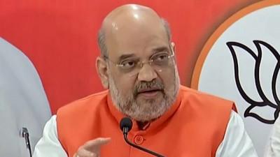 केन्द्रीय मंत्री अमित शाह रविवार को दो दिन के उत्तर प्रदेश के दौर पर