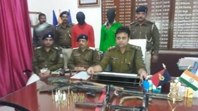 जम्मू में हथियारों के साथ तीन कुख्यात अपराधी गिरफ्तार