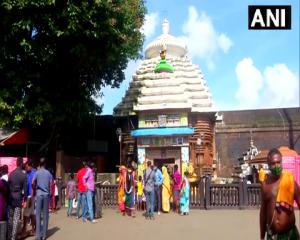 भुवनेश्वर के लिंगराज मंदिर को 5 महीनों बाद आज से श्रद्धालुओं के लिए खोल दिया