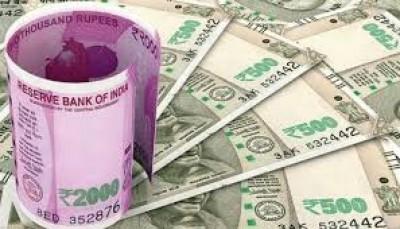 रुपया 23 पैसे टूटकर चार सप्ताह के निचले स्तर 73.84 प्रति डॉलर पर