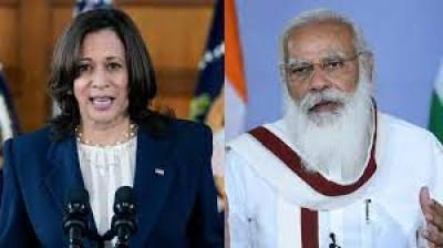 मोदी की कमला हैरिस से मुलाकात भारतीय अमेरिकियों के लिए यादगार क्षण: अमेरिकी समाचार पत्र