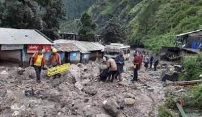 जम्मू-कश्मीर के एक गांव में बादल फटा, 30 से लोग अधिक लापता