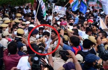 उत्तराखंड : पेगासस जासूसी कांड को लेकर कांग्रेस का राजभवन कूच