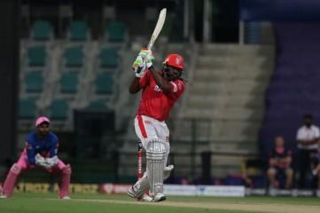 गेल एक रन से शतक से चूके, किंग्स इलेवन पंजाब के चार विकेट पर 185 रन