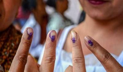 मणिपुर उपचुनाव: विधानसभा की चार सीटों के लिए मतदान जारी