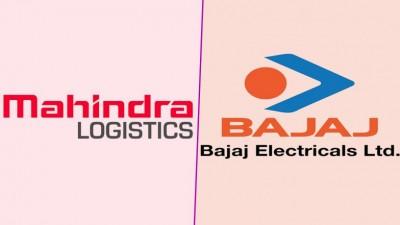बजाज इलेक्ट्रिकल्स, महिन्द्रा लाजिस्टिक्स के बीच 1,000 करोड़ रुपये के अनुबंध पर हस्ताक्षर