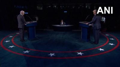 ट्रम्प और बाइडेन के बीच राष्ट्रपति पद के लिए हुई अंतिम बहस