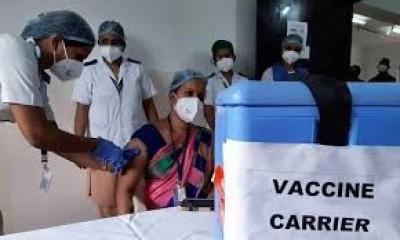 तेलंगाना में 324 केन्द्रों पर कोविड-19 टीकाकरण कार्यक्रम जारी, अभी नहीं लग रहा 'कोवैक्सीन'