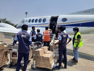 मध्य प्रदेश :रेमडेसिविर इंजेक्शन ला रहे विमान दुर्घटना की होगी जांच