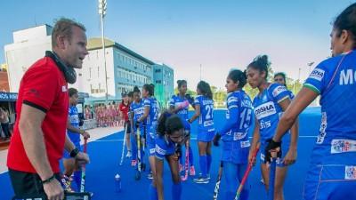 भारतीय महिला हॉकी टीम दुनिया की दूसरे नंबर की टीम अर्जेंटीना से हारी