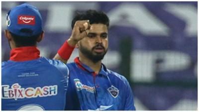 धीमी ओवर गति के लिए दिल्ली कैपिटल्स के कप्तान श्रेयस अय्यर पर जुर्माना