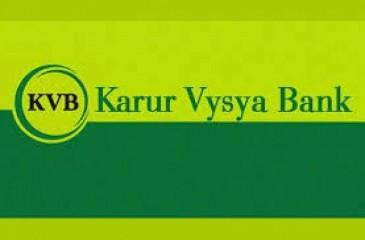 करूर वैश्य बैंक का शुद्ध लाभ दूसरी तिमाही में 81 प्रतिशत बढ़कर 115 करोड़ रुपये
