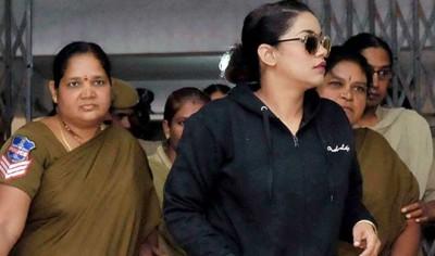 हैदराबाद मादक पदार्थ मामला : अभिनेत्री मुमैत खान ईडी के सामने पेश हुईं