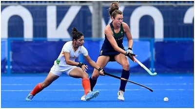 दक्षिण अफ्रीका को हराकर भारतीय महिला हॉकी टीम ने अंतिम आठ की उम्मीदें कायम रखी