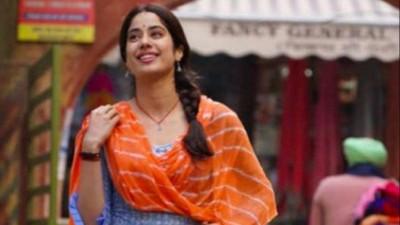पंजाब में किसानों के विरोध के चलते जाह्नवी कपूर की फिल्म की शूटिंग रुकी