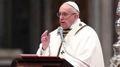 पोप ने इराक के ईसाइयों से मुस्लिम चरमपंथियों के अत्याचार माफ कर देने की अपील की